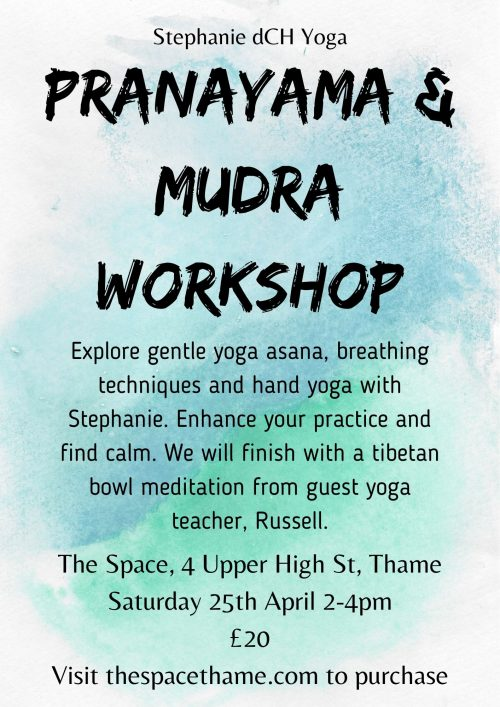 Pranayama Mudra Workshop
